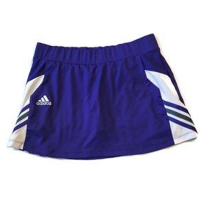 Adidas ClimaLite Skort Skirt Attached Shorts m